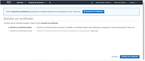 Gerando certificado SSL