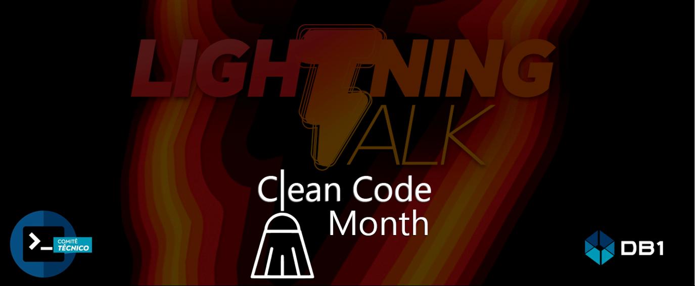 Thumbnail Da Trilha De Código Limpo Clean Code Month